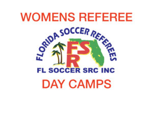 Womens Referee Day Camp @ Lake Myrtle Sports Complex